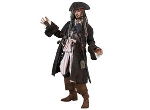 Hot Toys Pirates des Caraïbes : La Fontaine de jouvence1/6 Jack Sparrow