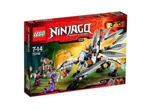Lego Ninjago 70748 - Le Dragon de Titane