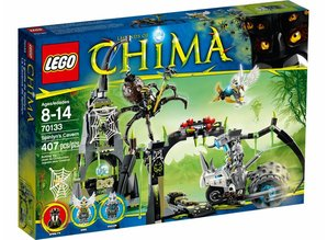 Lego Chima 70133 -  Spinlyn's Höhle