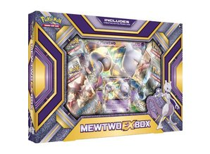 Pokémon TCG Mewtwo-EX Box Englisch Version