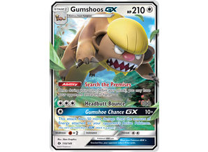 Pokémon Gumshoos GX 110/149