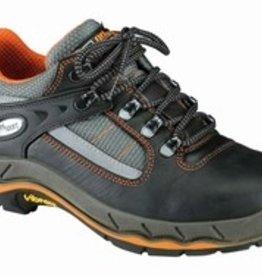 Grisport Safety Werk schoenen 71605 zwart/oranje