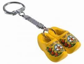 Nijhuis sleutelhanger 2 klompjes