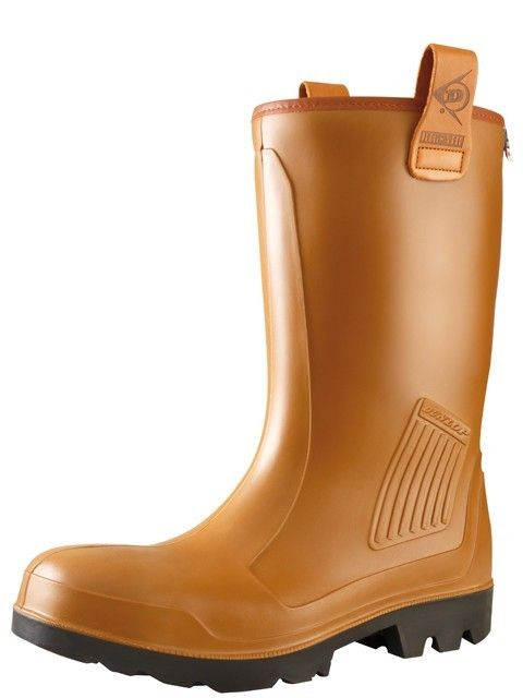 Dunlop Rigair laars - C462743 S5 bruin