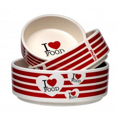 FuzzYard I love Food keramieken voerbak