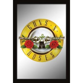 Pyramid Guns N' Roses Spiegel met Lijst 22 cm x 32 cm