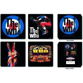 Rock Off Coasterpack The Who 4 verschillende Onderzetters