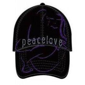 Rock Off John Lennon PEACE & LOVE Cap  Pet