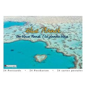 Tushita Blue Planet Wens- Ansichtkaarten Postcard Book