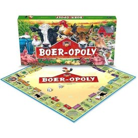 Late For The Sky Boer-Opoly Gezelschapsspel