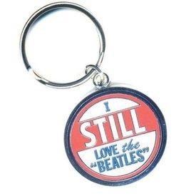 Rock Off Beatles Keychain Ich liebe immer noch die Beatles
