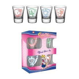 GB Eye Sailor Moon Characters Shotglazen Set