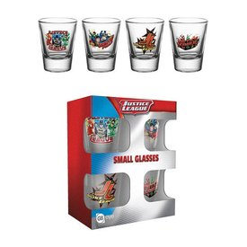 GB Eye DC ComicsJustice League Characters Schnapsglas Set