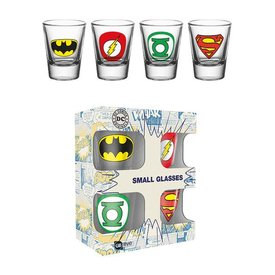 GB Eye DC Comics Logos Shotglazen Set