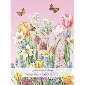 Comello Janneke Brinkman Verjaardagskalender Frühlings-Blumen-A4