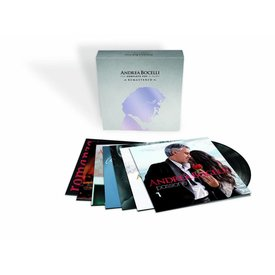 Universal Andrea Bocelli komplette Pop Alben 7 Dub. LP Ltd. Ed. Vinyl Sealed
