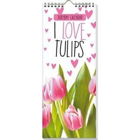 Interstat Tulpen - I Love Tulips Verjaardagskalender