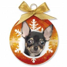 Plenty Gifts Chihuahua Kerstballen Set (3 stuks)