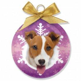 Plenty Gifts Jack Russell Terrier Kerstballen Set (3 stuks)