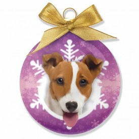Plenty Gifts Jack Russell Terrier Weihnachtskugeln Set (3 Stück)