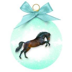 Plenty Gifts Springende Paarden Kerstballen Set (3 stuks)