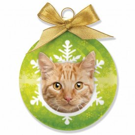Plenty Gifts Rode Kat Kerstballen Set (3 stuks)