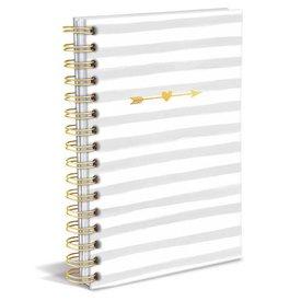 Graphique de France Notizbuch Stripes And Arrows