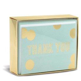 Graphique de France Blue And Gold 10 Boxed Notitiekaarten met envelop