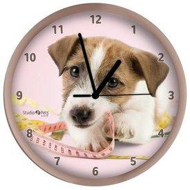 Studio Pets By Myrna Jack Russell Terrier Wandklok