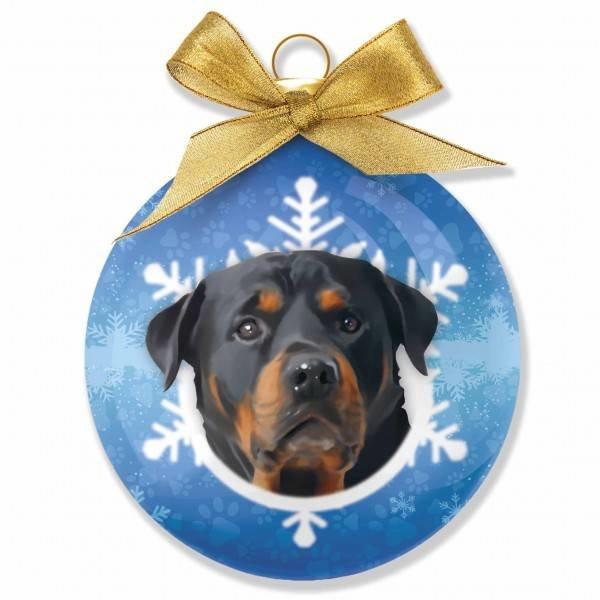 Plenty Gifts Rottweiler Kerstballen Set (3 stuks)