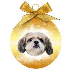 Plenty Gifts Shih Tzu Kerstballen Set (3 stuks)