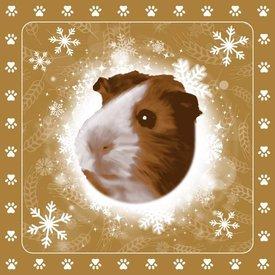 Otter House Christmas Special Tafelkeed - Servietten - Kerze Guinea