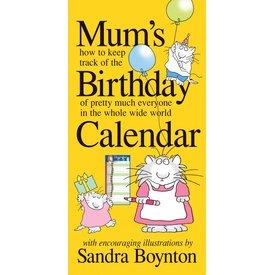 Workman Publishing Mum's Birthday Verjaardagskalender