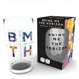 GB Eye Bring Me The Horizon Logo Bierglas