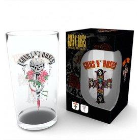 GB Eye Guns N Roses Logo Bierglas