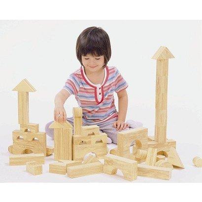 Weplay Softwood Blokkenset  (4 cm, 40-delig)