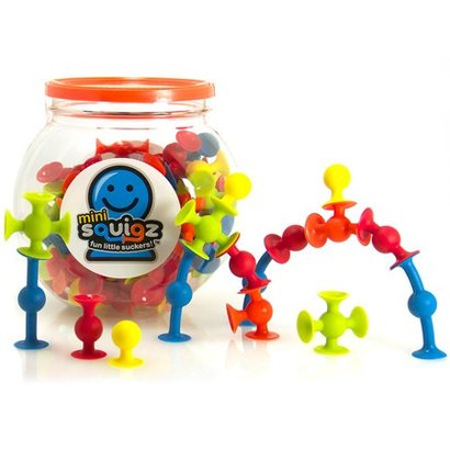 Fat Brain Toys FatBrain Mini Squiqz, pot van 75 stuks