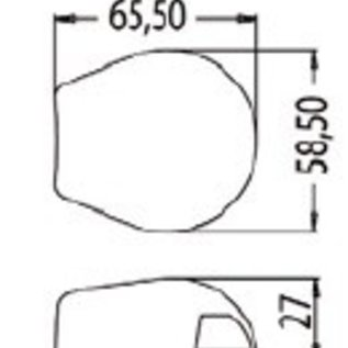 LED Toplicht 225 graden Sea Dog RVS