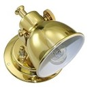 Classic wandlamp - Dag & Nacht / Messing gepolijst