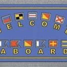 Deurmat Welcome Aboard - 40x68cm