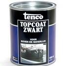 Tenco Tenco topcoat zwart