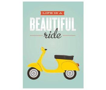 poster beautiful ride XL