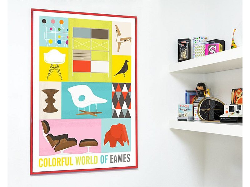 Restyle poster world of Eames