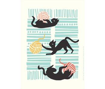 poster kissat ja kerät