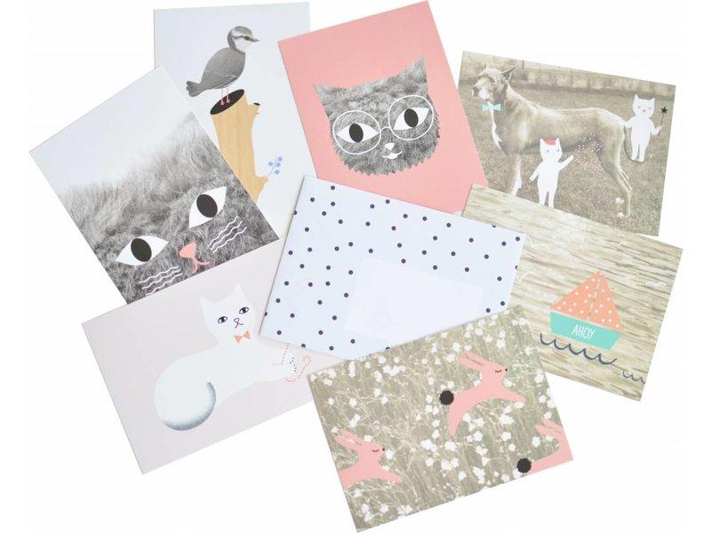 Omm design set kaarten For You van Audrey Jeanne