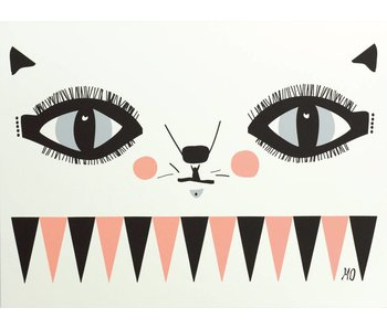 A3 poster cat face