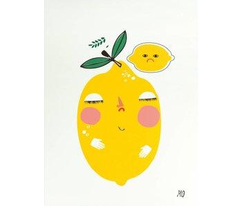 A3 poster bitter lemons
