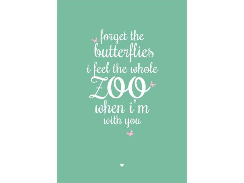 Petite Louise poster Zoo