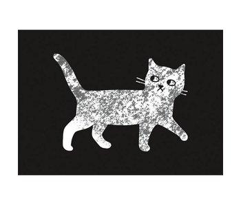kaart gemarmerde kat