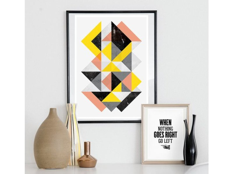 Restyle poster geometric art nr.8